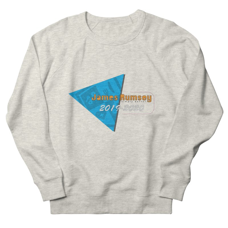Retro Design With Shield Men's French Terry Sweatshirt by James Rumsey Technical Institute