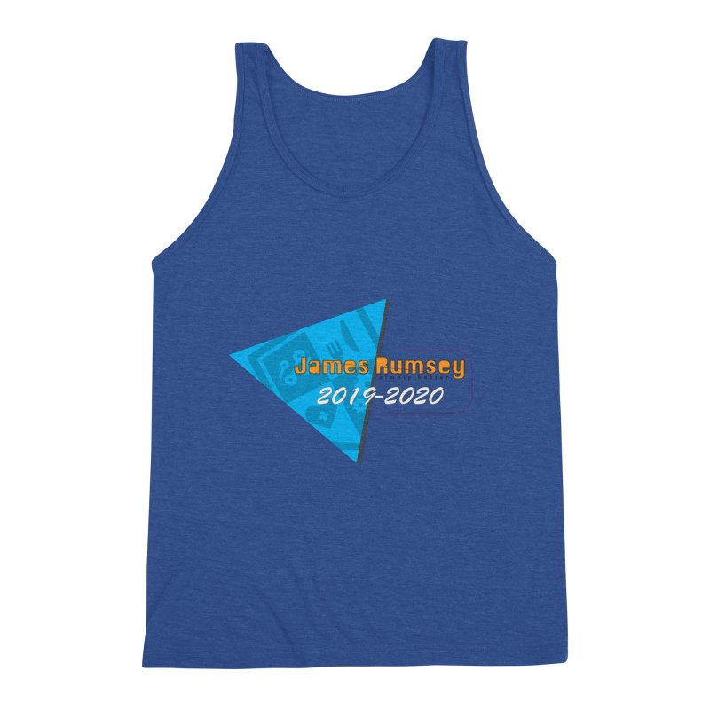Retro Design With Shield Men's Tank by James Rumsey Technical Institute