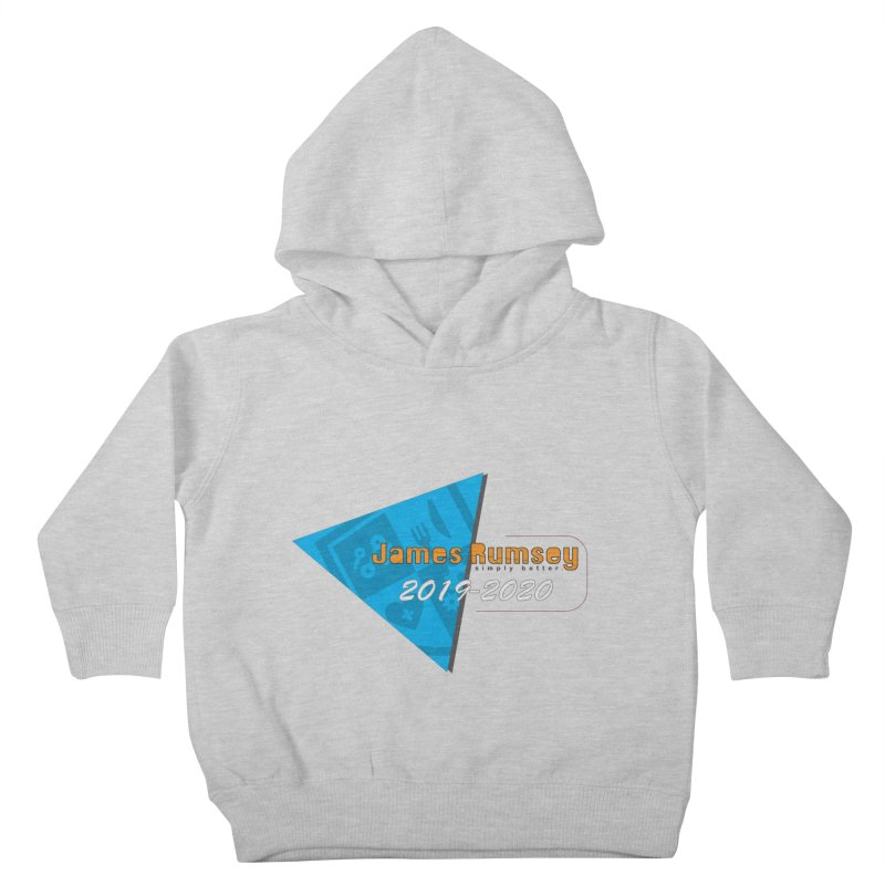 Retro Design With Shield Kids Toddler Pullover Hoody by James Rumsey Technical Institute