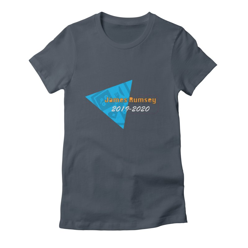 Retro Design With Shield Women's T-Shirt by James Rumsey Technical Institute