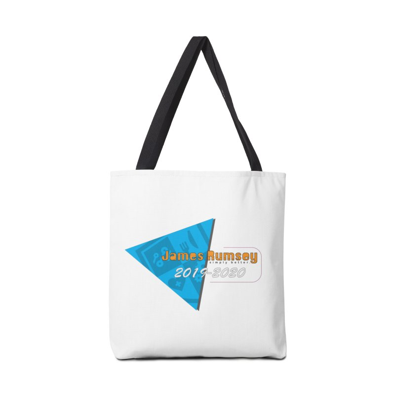 Retro Design With Shield Accessories Tote Bag Bag by James Rumsey Technical Institute