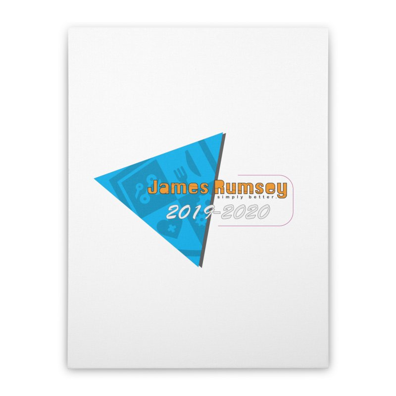 Retro Design With Shield Home Stretched Canvas by James Rumsey Technical Institute