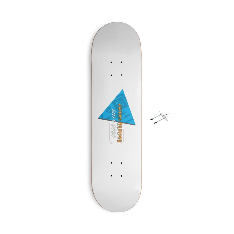 Retro Design With Shield Accessories With Hanging Hardware Skateboard by James Rumsey Technical Institute