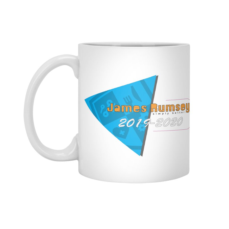 Retro Design With Shield Accessories Standard Mug by James Rumsey Technical Institute