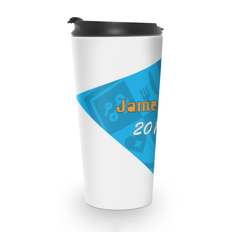 Retro Design With Shield Accessories Travel Mug by James Rumsey Technical Institute