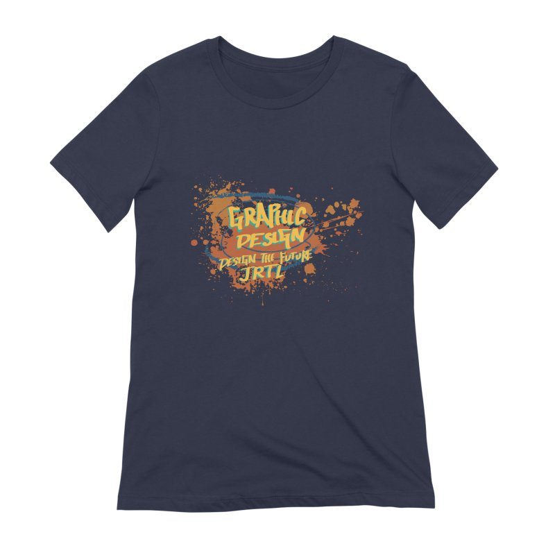 Graphic Design Women's Extra Soft T-Shirt by James Rumsey Technical Institute
