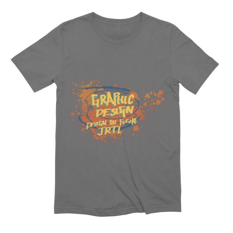 Graphic Design Men's T-Shirt by James Rumsey Technical Institute