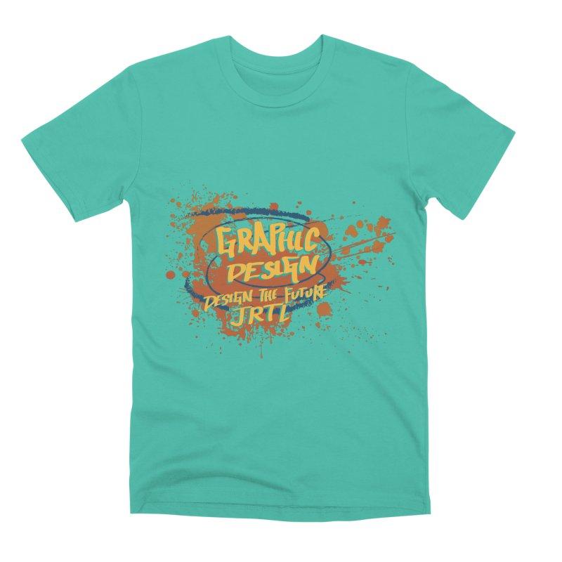 Graphic Design Men's Premium T-Shirt by James Rumsey Technical Institute