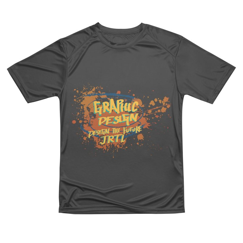 Graphic Design Men's Performance T-Shirt by James Rumsey Technical Institute