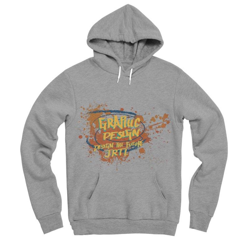 Graphic Design Men's Sponge Fleece Pullover Hoody by James Rumsey Technical Institute