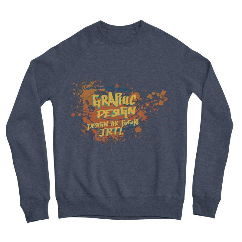 Graphic Design Men's Sponge Fleece Sweatshirt by James Rumsey Technical Institute