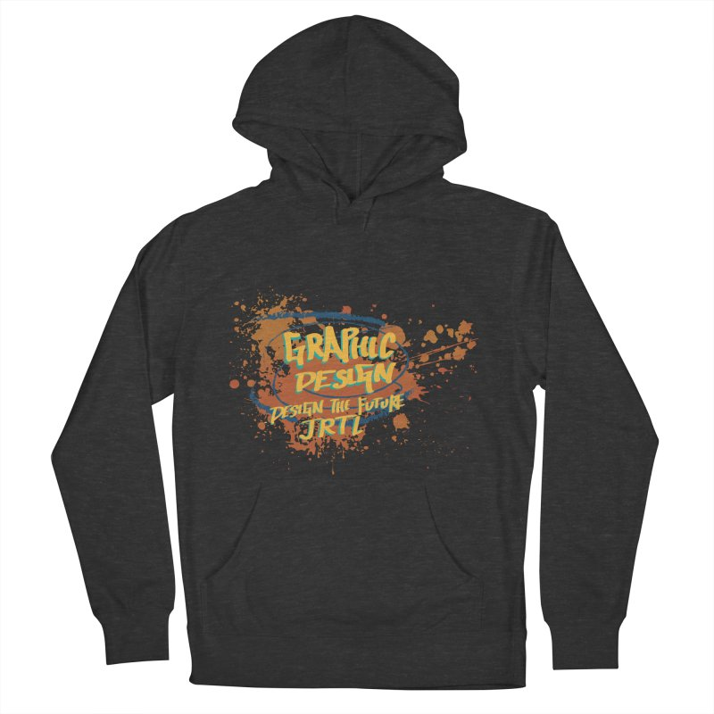Graphic Design Men's French Terry Pullover Hoody by James Rumsey Technical Institute