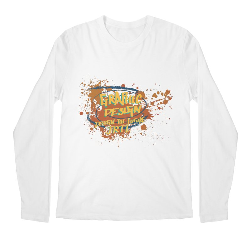 Graphic Design Men's Regular Longsleeve T-Shirt by James Rumsey Technical Institute