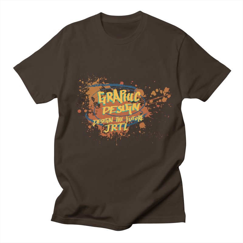 Graphic Design Men's Regular T-Shirt by James Rumsey Technical Institute