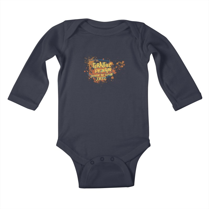 Graphic Design Kids Baby Longsleeve Bodysuit by James Rumsey Technical Institute