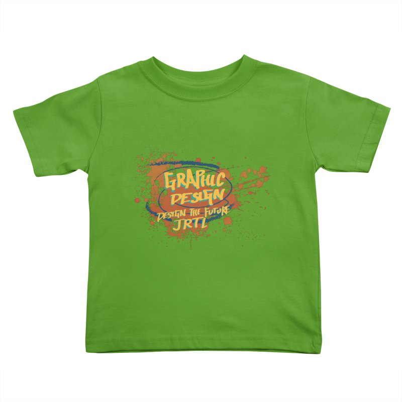 Graphic Design Kids Toddler T-Shirt by James Rumsey Technical Institute