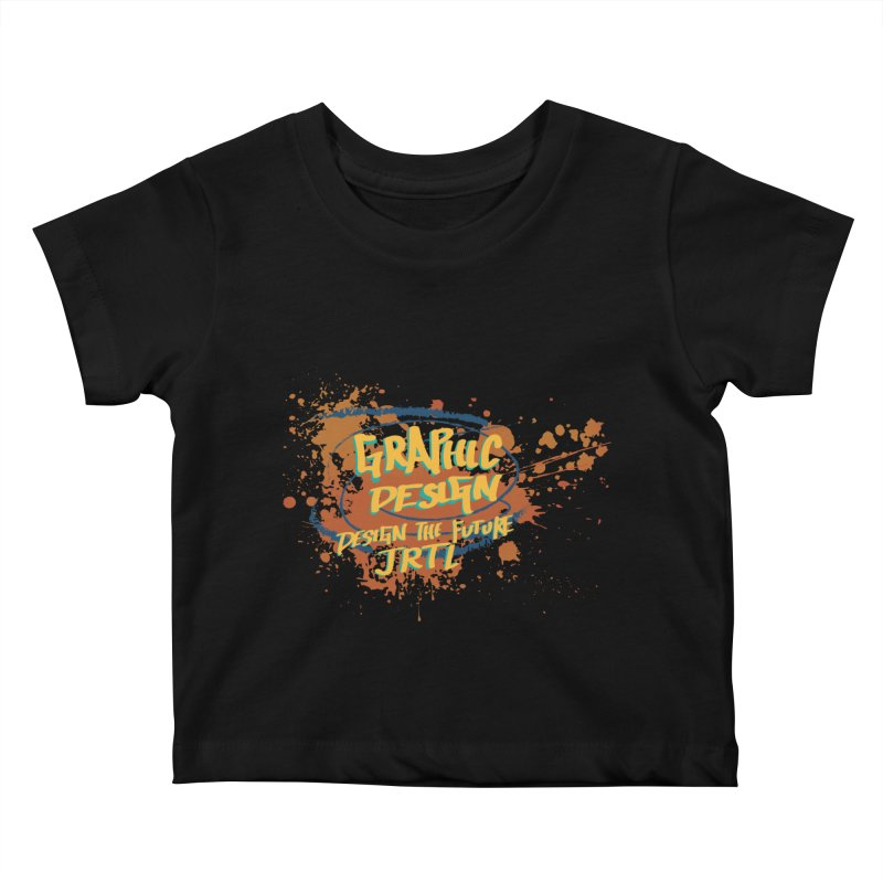Graphic Design Kids Baby T-Shirt by James Rumsey Technical Institute