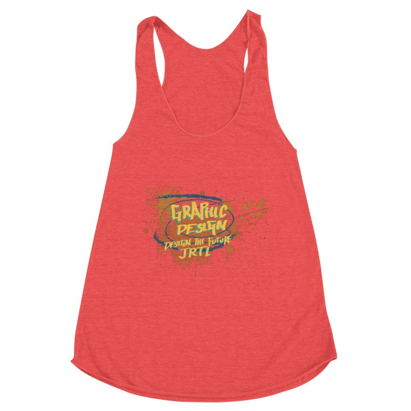 Graphic Design Women's Tank by James Rumsey Technical Institute