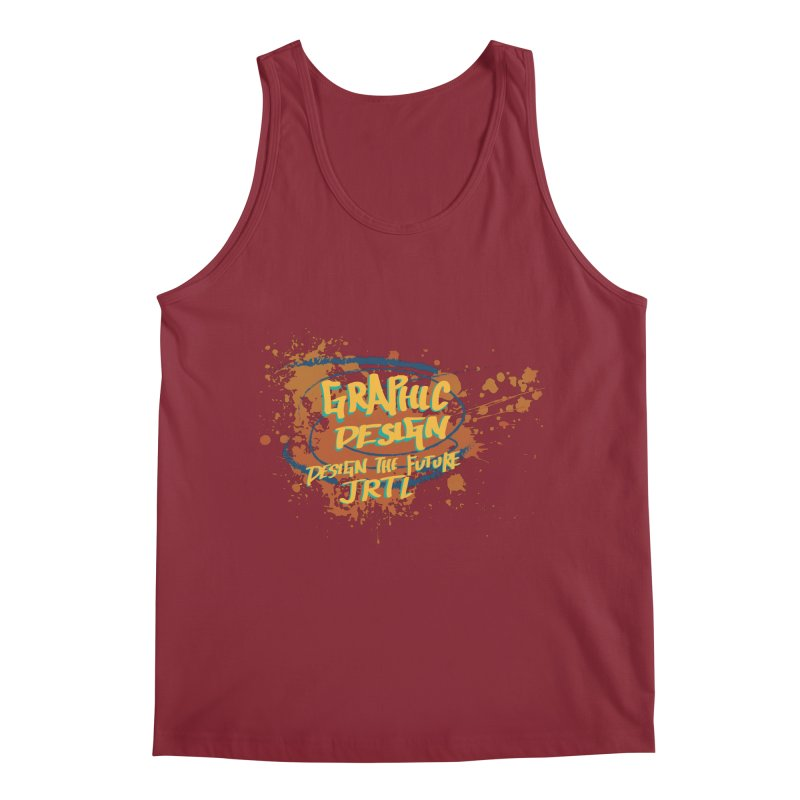 Graphic Design Men's Tank by James Rumsey Technical Institute