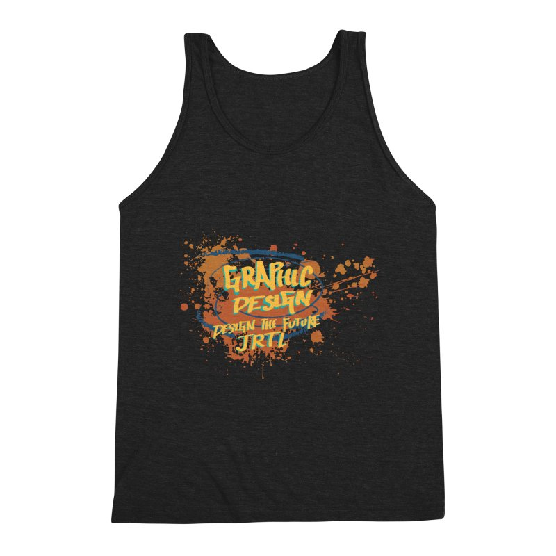 Graphic Design Men's Triblend Tank by James Rumsey Technical Institute