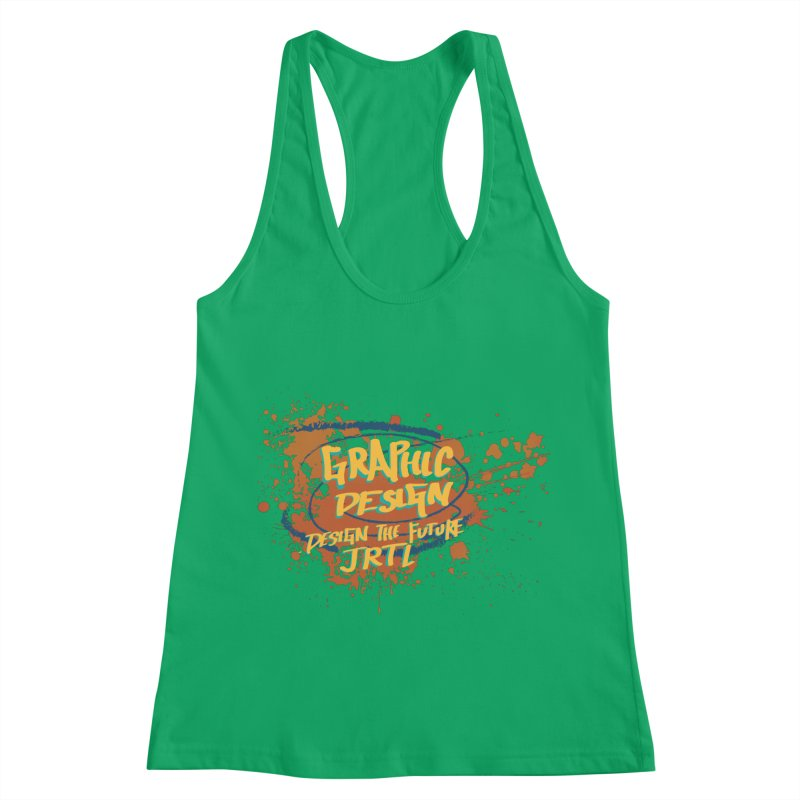 Graphic Design Women's Racerback Tank by James Rumsey Technical Institute