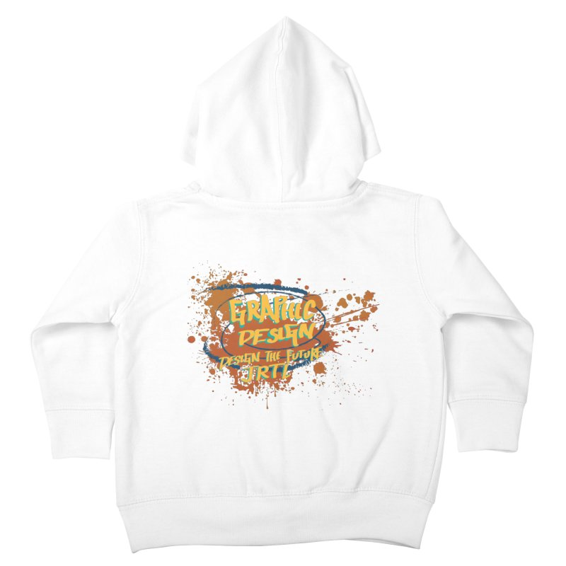 Graphic Design Kids Toddler Zip-Up Hoody by James Rumsey Technical Institute