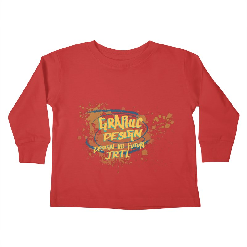 Graphic Design Kids Toddler Longsleeve T-Shirt by James Rumsey Technical Institute