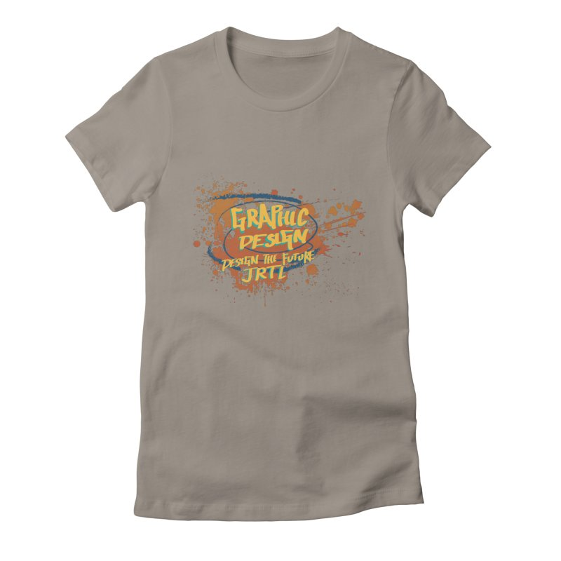 Graphic Design Women's Fitted T-Shirt by James Rumsey Technical Institute