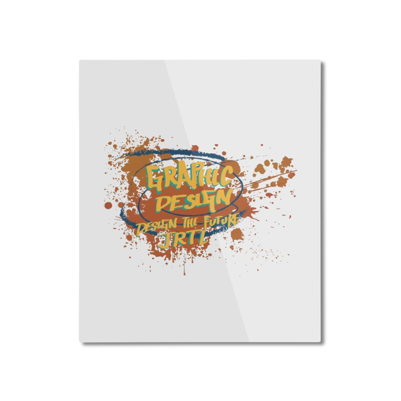 Graphic Design Home Mounted Aluminum Print by James Rumsey Technical Institute