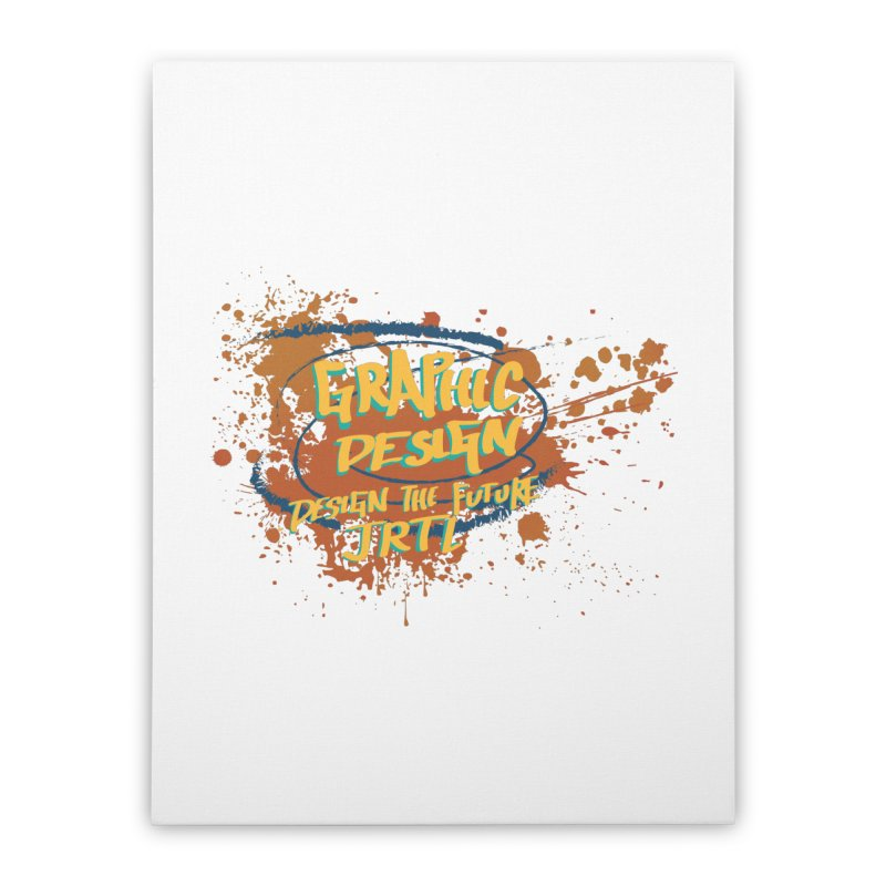 Graphic Design Home Stretched Canvas by James Rumsey Technical Institute