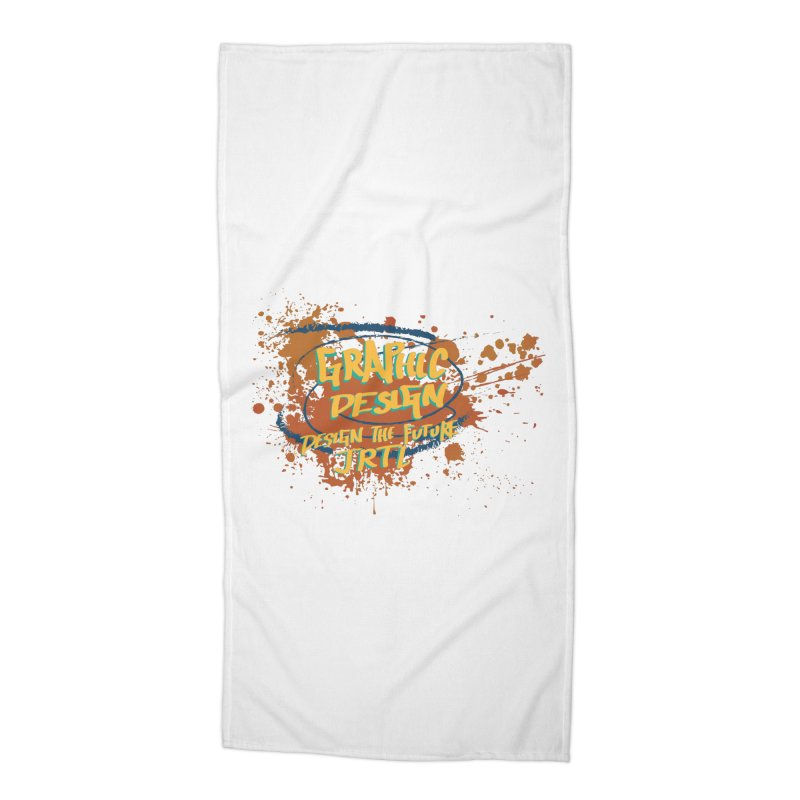 Graphic Design Accessories Beach Towel by James Rumsey Technical Institute