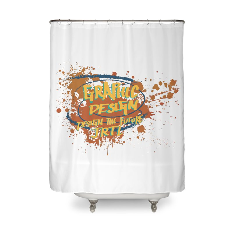 Graphic Design Home Shower Curtain by James Rumsey Technical Institute
