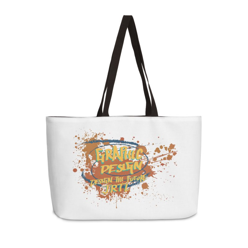 Graphic Design Accessories Weekender Bag Bag by James Rumsey Technical Institute