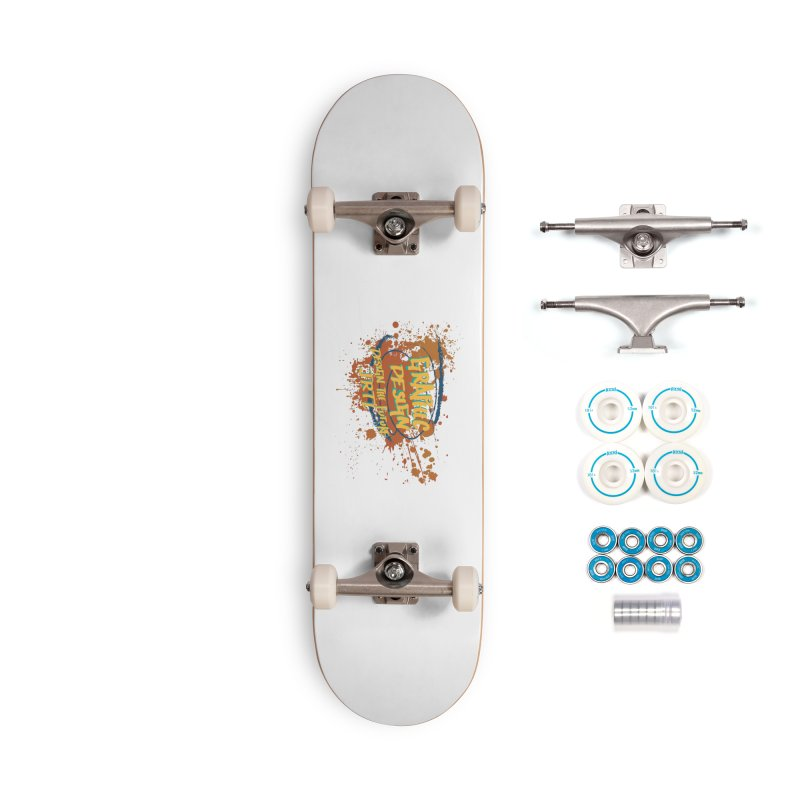 Graphic Design Accessories Complete - Basic Skateboard by James Rumsey Technical Institute
