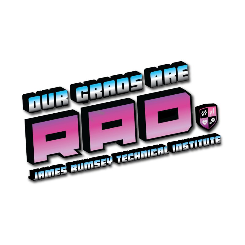 Our Grads Are RAD Men's T-Shirt by James Rumsey Technical Institute