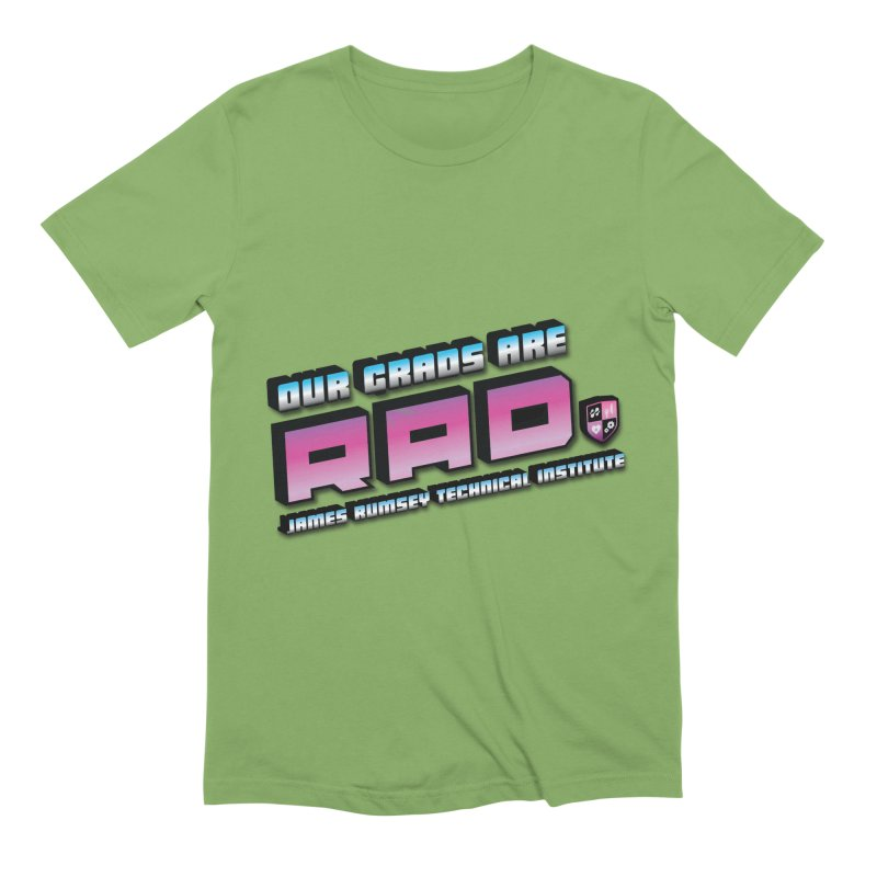 Our Grads Are RAD Men's Extra Soft T-Shirt by James Rumsey Technical Institute