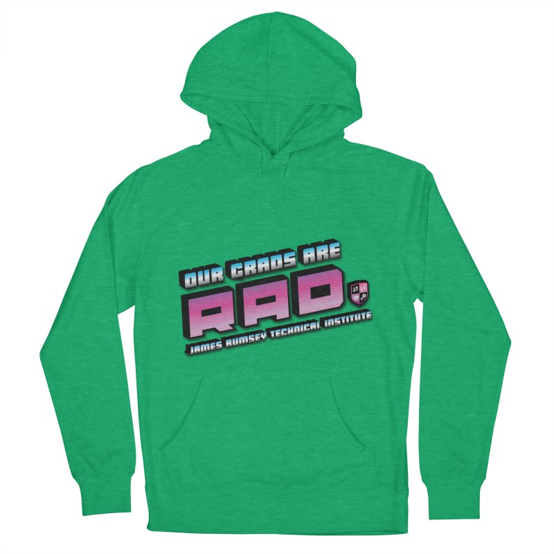 Our Grads Are RAD Men's French Terry Pullover Hoody by James Rumsey Technical Institute