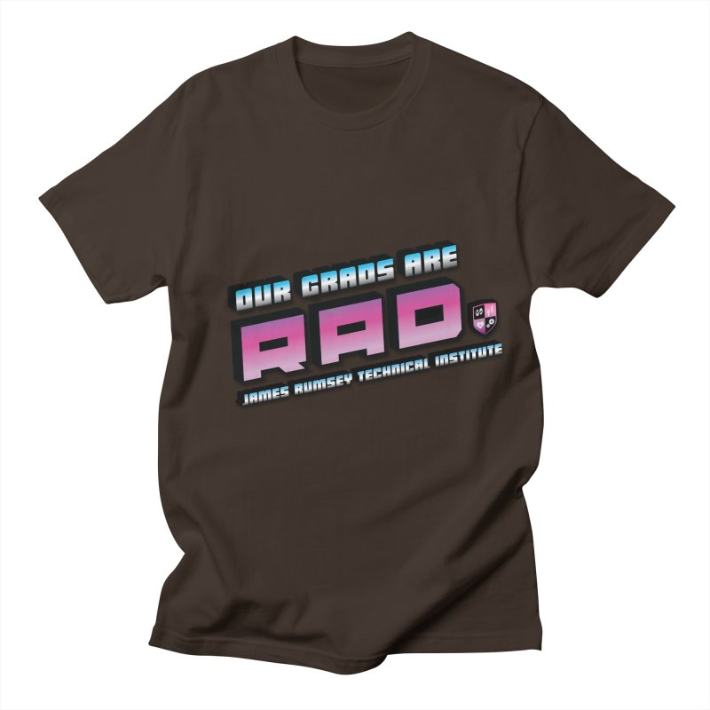 Our Grads Are RAD Men's Regular T-Shirt by James Rumsey Technical Institute