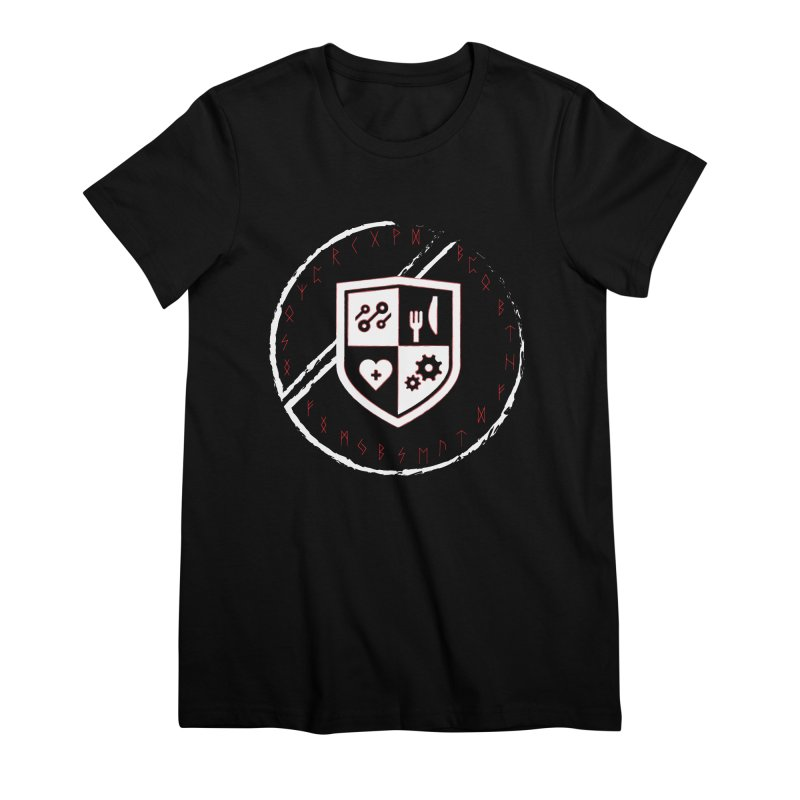 Runes Women's Premium T-Shirt by James Rumsey Technical Institute