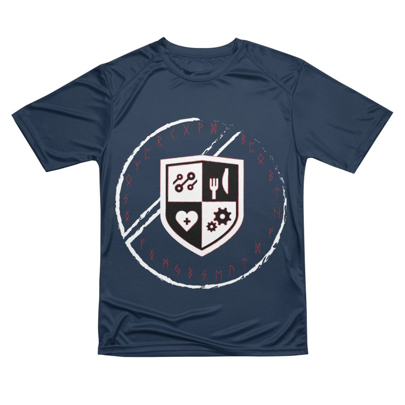 Runes Men's Performance T-Shirt by James Rumsey Technical Institute