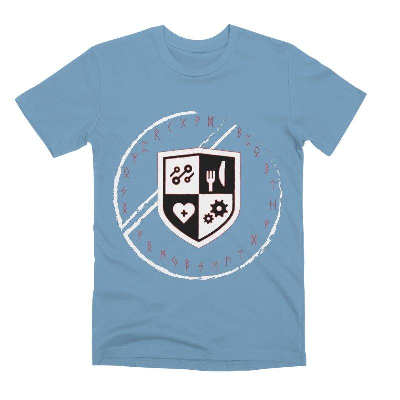 Runes Men's Premium T-Shirt by James Rumsey Technical Institute