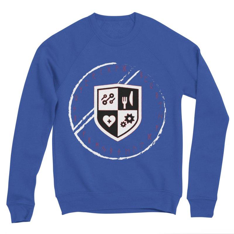 Runes Women's Sponge Fleece Sweatshirt by James Rumsey Technical Institute