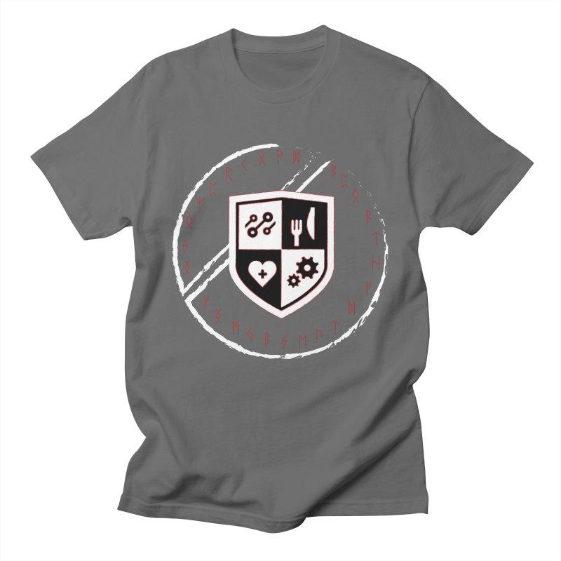Runes Men's Regular T-Shirt by James Rumsey Technical Institute