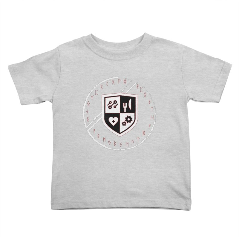 Runes Kids Toddler T-Shirt by James Rumsey Technical Institute