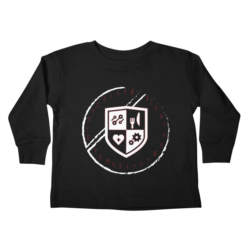 Runes Kids Toddler Longsleeve T-Shirt by James Rumsey Technical Institute