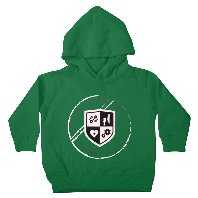 Runes Kids Toddler Pullover Hoody by James Rumsey Technical Institute