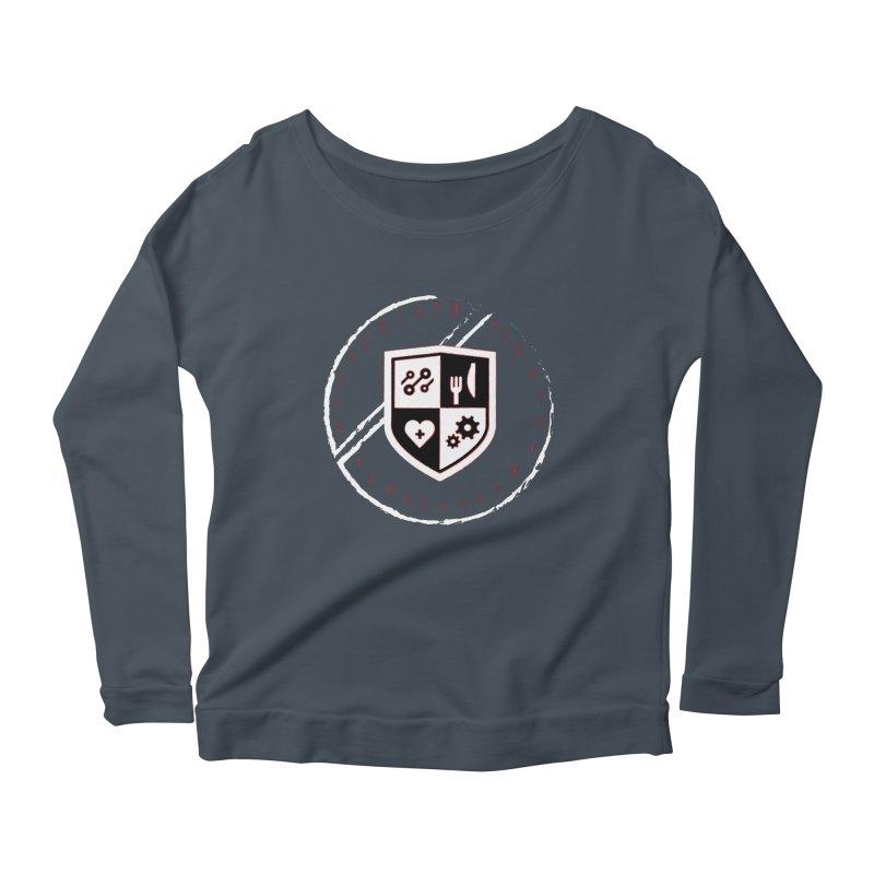 Runes Women's Scoop Neck Longsleeve T-Shirt by James Rumsey Technical Institute