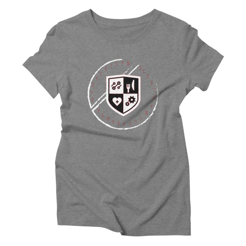 Runes Women's Triblend T-Shirt by James Rumsey Technical Institute