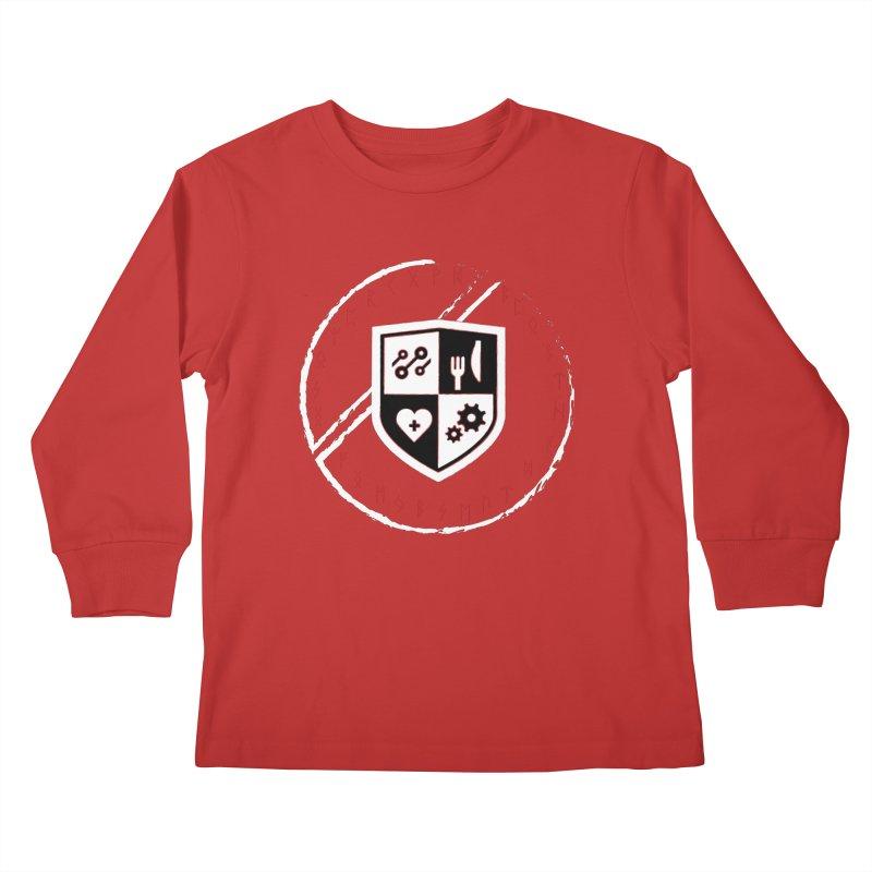 Runes Kids Longsleeve T-Shirt by James Rumsey Technical Institute