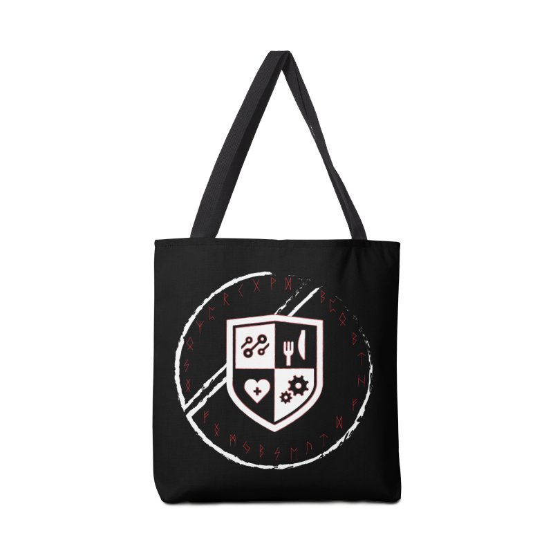 Runes Accessories Tote Bag Bag by James Rumsey Technical Institute